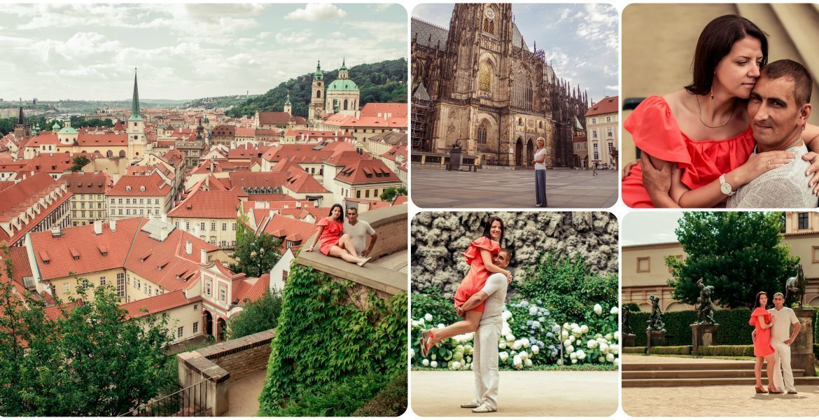 Prague Castle + Wallenstein Garden