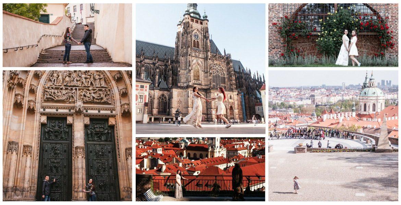 Фотопрогулка: #28 Prague Castle + The Gardens Below Prague Castle