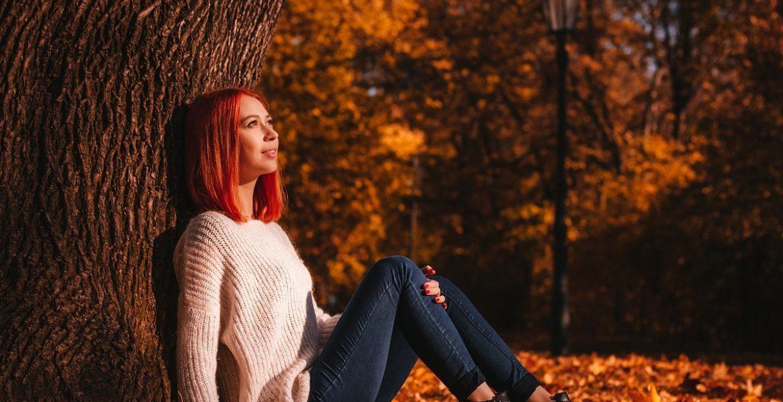Individual autumn photoshoot in Prague