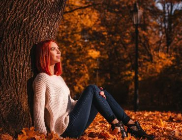 Individual autumn photoshoot in Prague