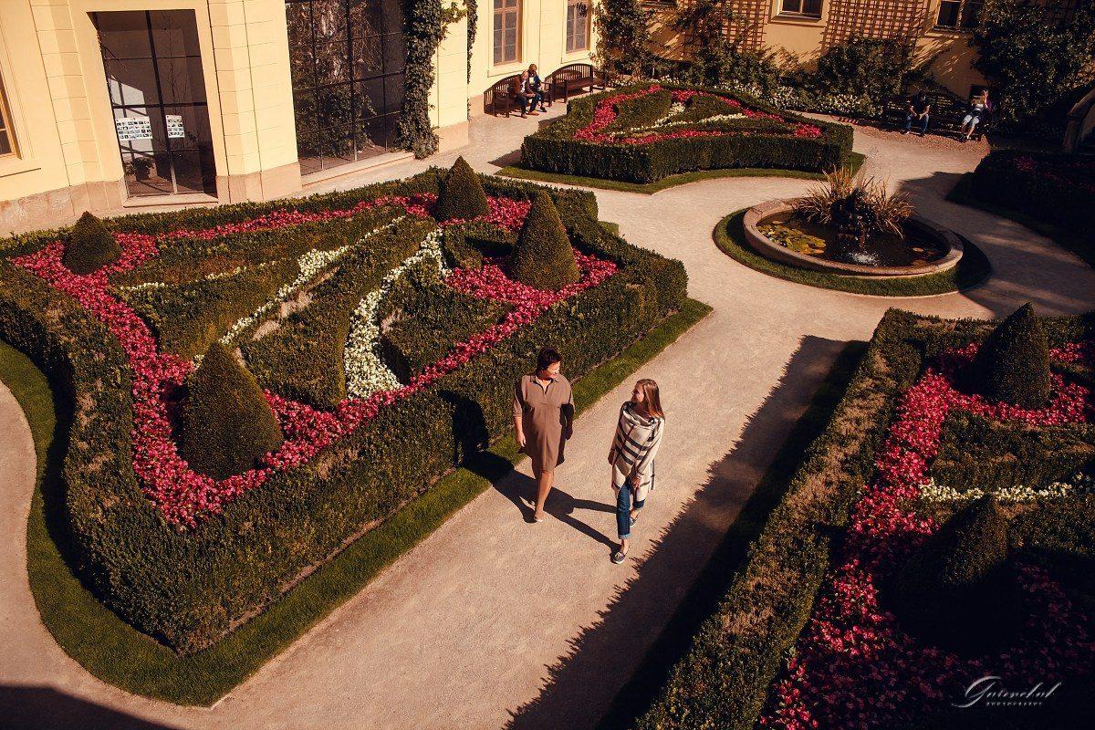 Фотопрогулка с мамой в Вртбовском саду