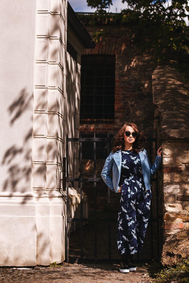 Фотосессия девушки на Вышеграде