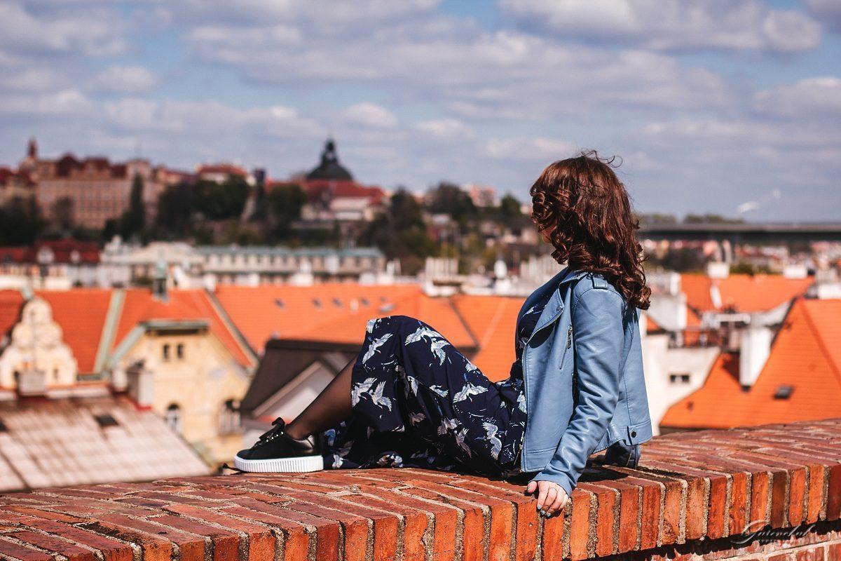 Женская фотосессия на Вышеграде