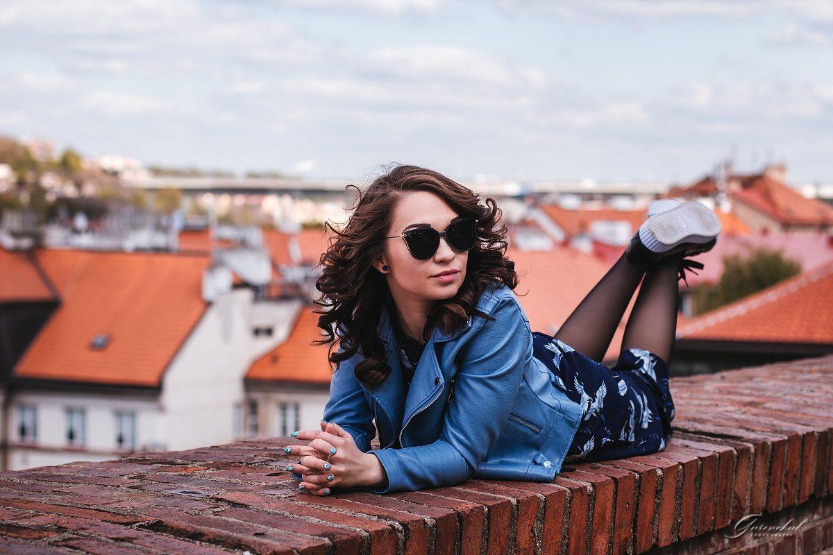 Женская фотосессия в Праге