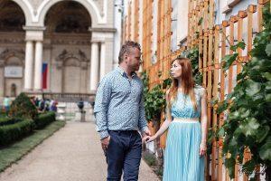 Фотопрогулка пары в Праге