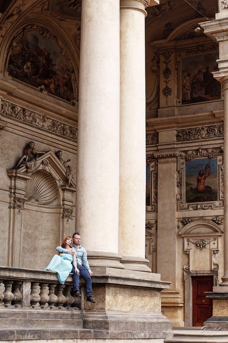 Фотоъёмка пары в Праге