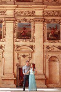 Фотосессия пары в Праге