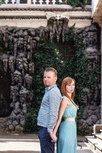 Фотосессия пары в Пражских садах