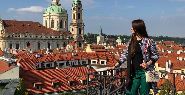 Photo shoot for Instagram in Prague