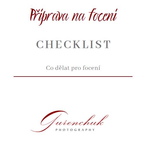 Checklist №1 Příprava na focení