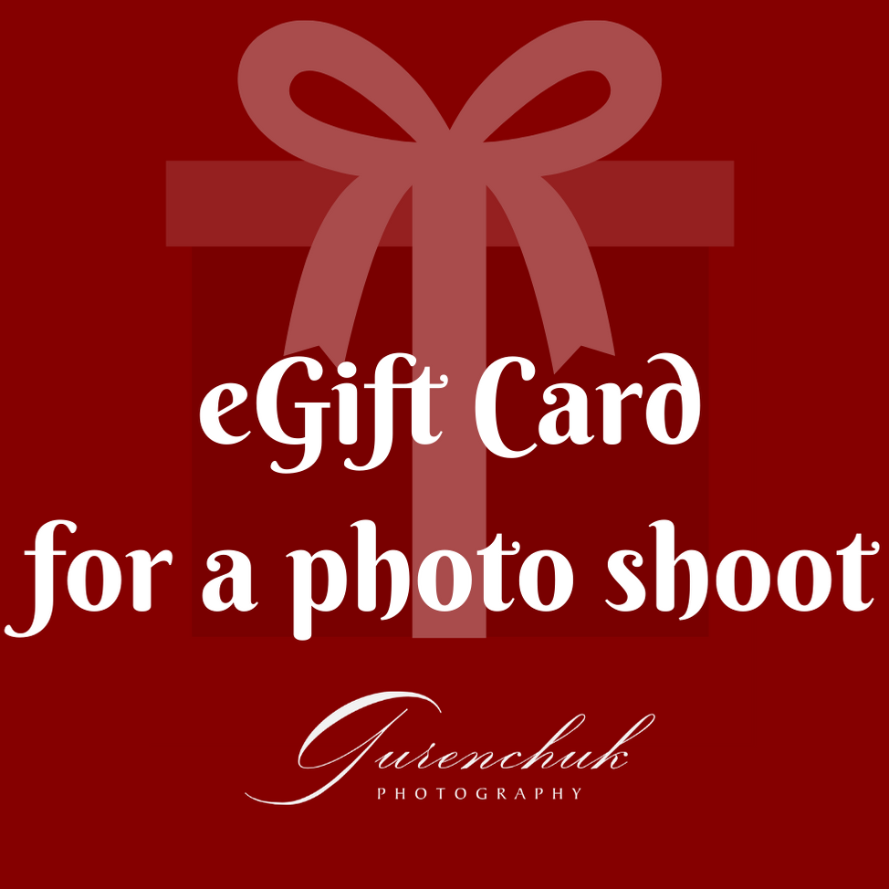 eGift Card for a photo shoot