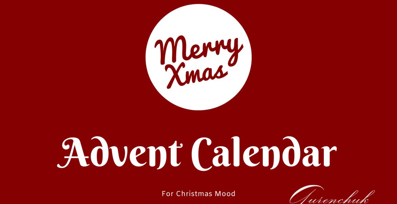 Advent Calendar 2020 For Christmas Mood